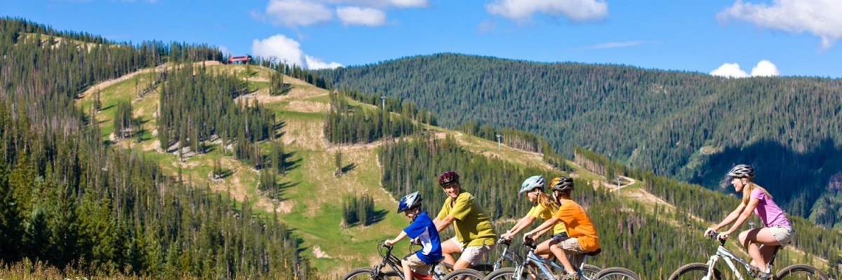 Mountain biking beaver creek