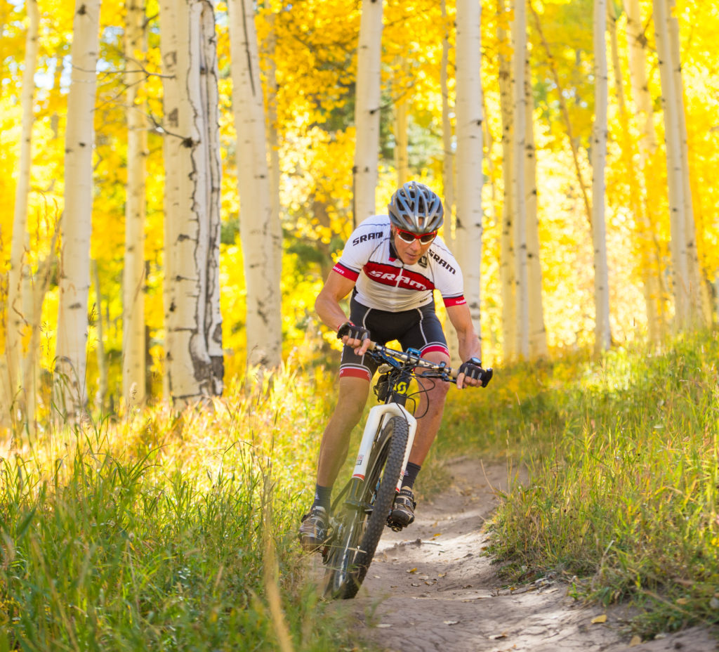 Fall biking beaver creek hike to the mic